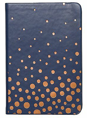 C.R. Gibson Small Address Book, Copper Dots A6-16854