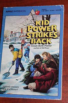 Kid Power Strikes Back Susan Beth Pfeffer Schoolastic 1984