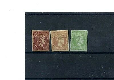 Greece Early Mint Hermes 16B,17A,and 18A.