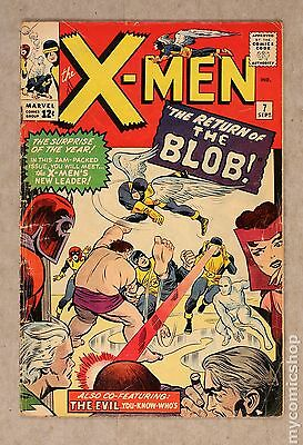 Uncanny X-Men (1963 1st Series) #7 GD- 1.8