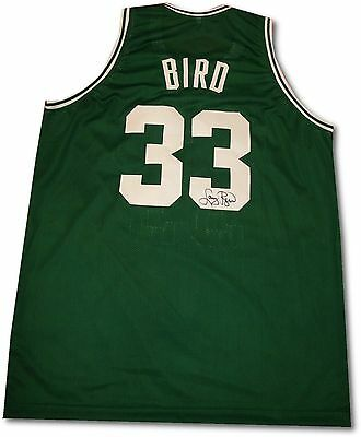 Larry Bird Signed Autographed Boston Celtics Jersey From Private Signing W/ COA