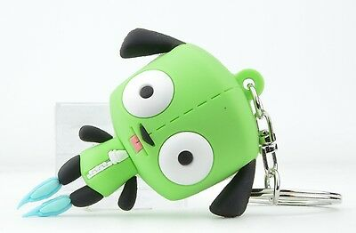 Nickelodeon Invader Zim Series 1 Figural Key Chain - Gir In Dog Suit