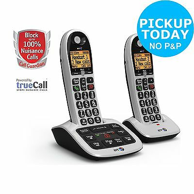 BT 4600 Cordless Telephone with Answer Machine - Twin