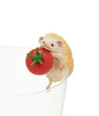 Kitan Club Hedgehog Putitto 2-Inch Cup Hanger Mini-Figure - #3