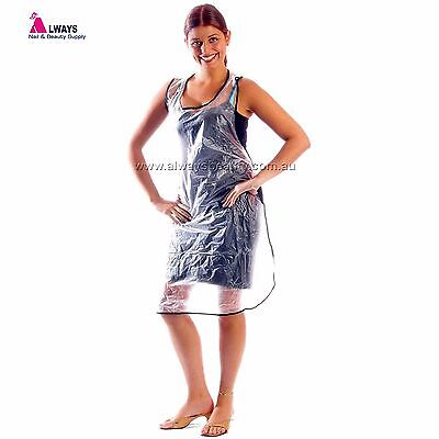 Vinyl Apron Hairdressing Protect Clothes During Chemical Service Aussie