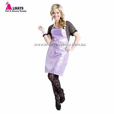Purple Hairdressing Apron For Chemical Services Aussie Sale