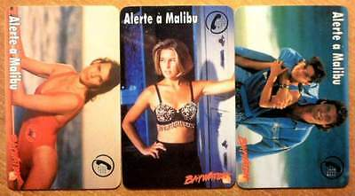 Alerte A Malibu - Lot 3 Cartes Differentes - 1