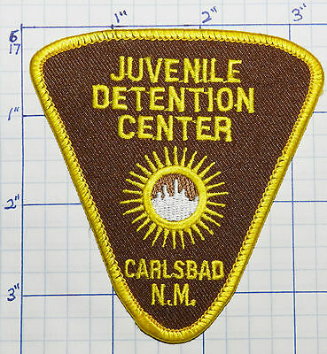 New Mexico, Carlsbad Juvenile Detention Center Police Patch
