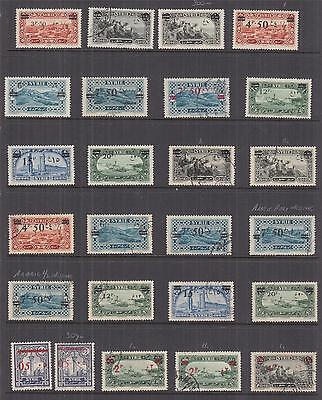 SYRIA, 1938-1949 Huge Accumulation, some better, lhm., used,