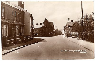 Early Real Photo Postcard Old Toll House-Birmingham Road-Quinton-Birmingham