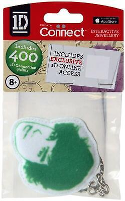 One Direction Interactive Jewellery - Fabric Keyring - Green - Liam - New