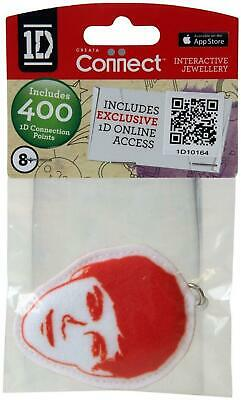 One Direction Interactive Jewellery - Fabric Keyring - Red - Niall - New