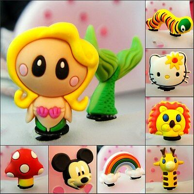 Free DHL Lovely Cartoon PVC 3DShoe Charms Shoe Accessories Decoration Kids Gifts