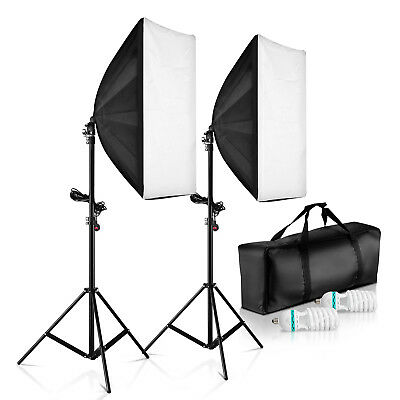 80cm Photo Studio Softbox Cube Table Top Light Tent Soft Box +4 Backdrops Kit AU