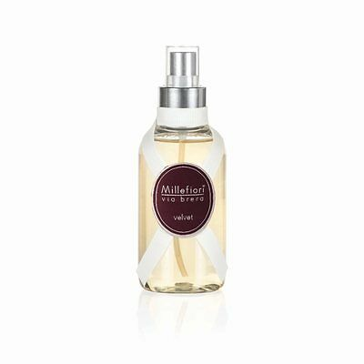 MILLEFIORI Via Brera New Home Spray Raumspray 150 ml VELVET