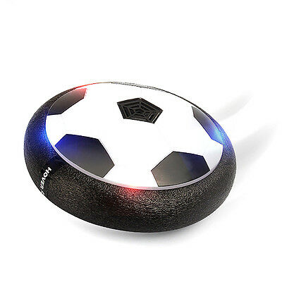 LED Gliding Ball Fun Indoor Soccer Air Floating Football Kids Stress Reducer Toy