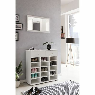 kleiderschrank wei mit 3 schubladen wie neu eur 30 00 picclick de. Black Bedroom Furniture Sets. Home Design Ideas