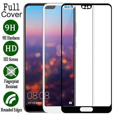 Full Cover Tempered Glass Screen Protector For Huawei Mate 10 P10 P20 Lite Pro