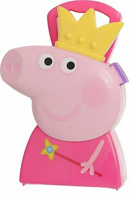 Peppa Pig Jewellery Case with Jewellery and Accessories - Pink -From Argos ebay