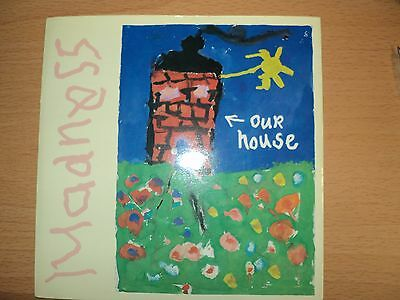 "Madness  "" Our House"" 7 inch single  Picture Sleeve ."