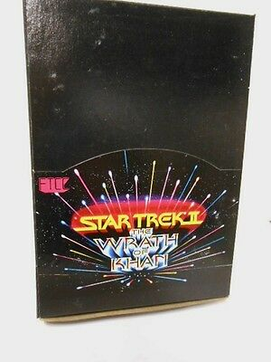 Star Trek Wraith of Khan movie rare cards full 36 packs box 1982