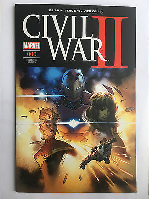 Panini Comics Marvel Civil War Ii N° 000 0 Prologue Dec 2016 Edition Collector