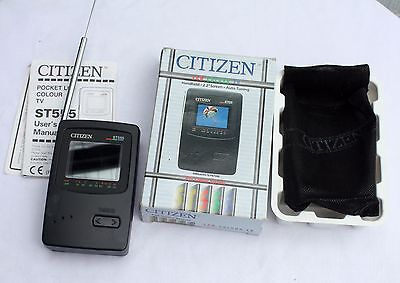 """Citizen Handheld 2.2"""" Screen LCD TV Television BOXED"""