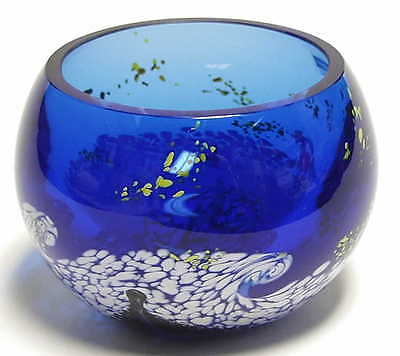 "Caithness Glass VAN GOGH Starry Night 3"" Bowl 4036632"