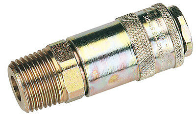 "Genuine DRAPER 1/2"" Male Thread PCL Tapered Airflow Coupling (Sold Loose) 