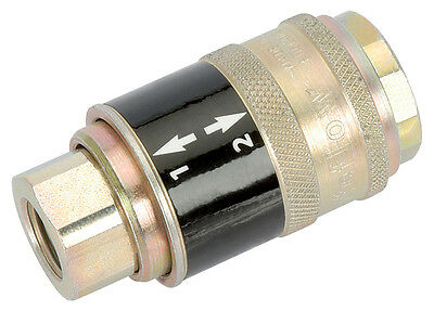 "DRAPER 1/4"" BSP Female Parallel' Safeflow' Air Line Coupling (Sold Loose) 