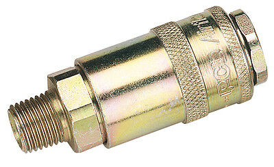 "Genuine DRAPER 1/4"" Male Thread PCL Tapered Airflow Coupling (Sold Loose) 
