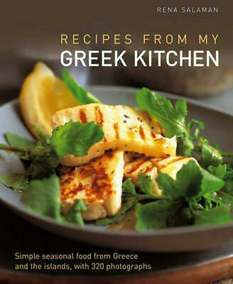 Recipes from My Greek Kitchen by Rena Salaman (English) Hardcover Book