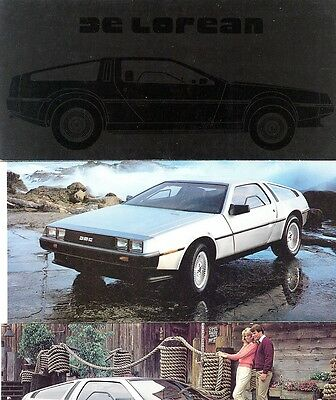 1981 De Lorean Tri-Fold Dealer Sales Brochure