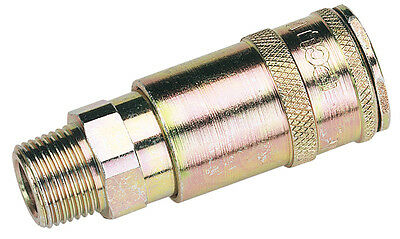 "DRAPER 3/8"" BSP Taper Male Thread Vertex Air Coupling (Sold Loose) 