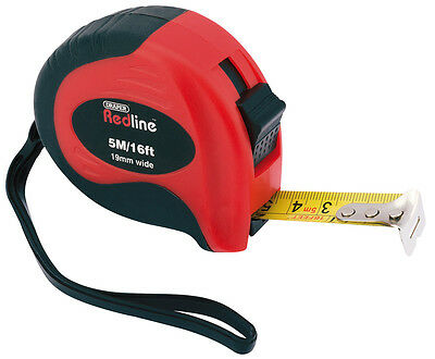 Genuine DRAPER 5M/16ft Soft Grip Metric/Imperial Measuring Tape | 69054