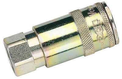 "DRAPER 3/8"" BSP Taper Female Thread Vertex Air Coupling (Sold Loose) 