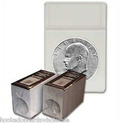 1 Pack of 25 BCW Brand Dollar Coin Display Slab Foam Inserts in White only