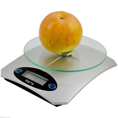 1g-5KG Digital LCD Electronic Kitchen Household Weighing Food Cooking Scales New