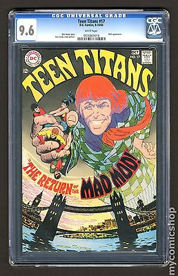 Teen Titans (1966 1st Series) #17 CGC 9.6 0976869014