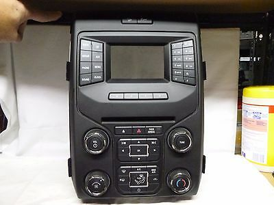 13 14 Ford F150 Radio Control Panel Face Plate EL3T-18A802-BA T05011