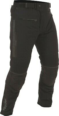 Weise Onyx Black Textile Waterproof Motorcycle Trousers NEW