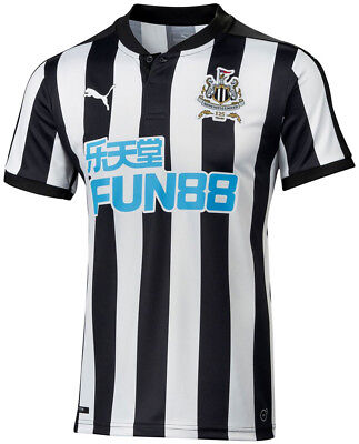 Puma Newcastle United Home 2017/18 Mens Football Shirt
