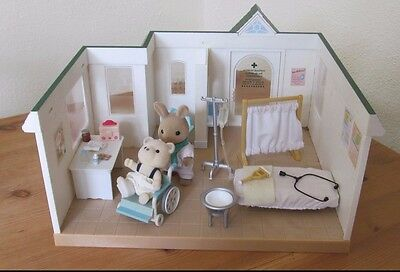 Sylvanian Hospital With Accessories