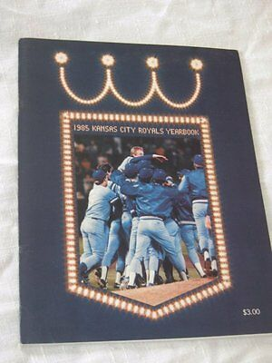 1985 Kansas City Royals Yearbook