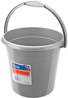 Genuine DRAPER 9L Plastic Bucket - Ideal for domestic and contract work | 24777