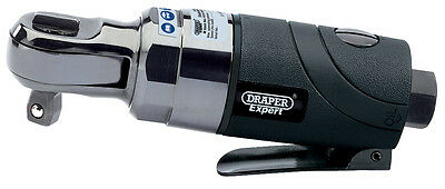 "DRAPER Expert 3/8"" Sq. Dr. Stubby Composite Body Reversible Air Ratchet 