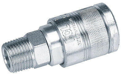 Genuine DRAPER 1/2 BSP Male Thread Air Line Coupling | 25857