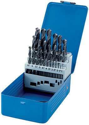 Genuine DRAPER Metric HSS Twist Drill Set (25 Piece) | 25928