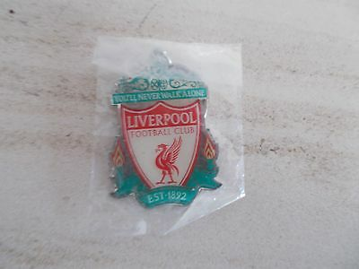 Liverpool FC metal keyring New and sealed