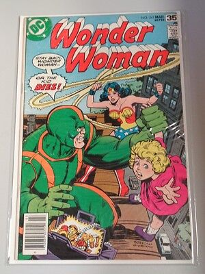 Wonder Woman #241 Dc Comics March 1978